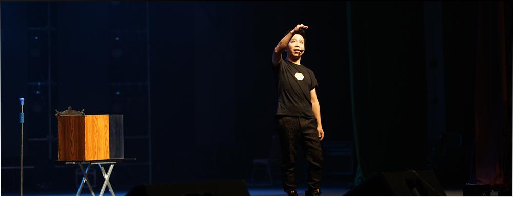 Iong's grand magic show in DongGuan