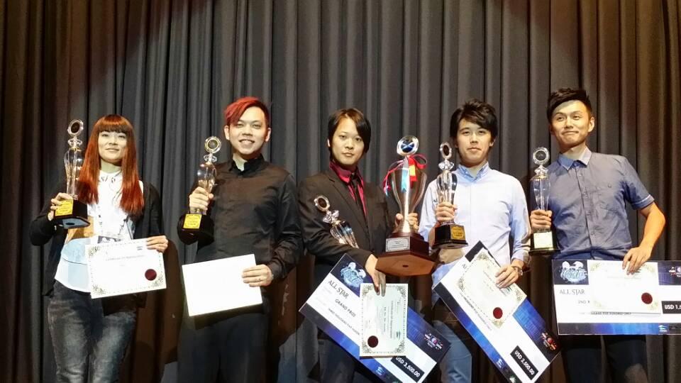 女魔術師江秋薇 勇奪國際魔術明星邀請賽最後五強