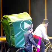 翁達智原創魔術 三輪車